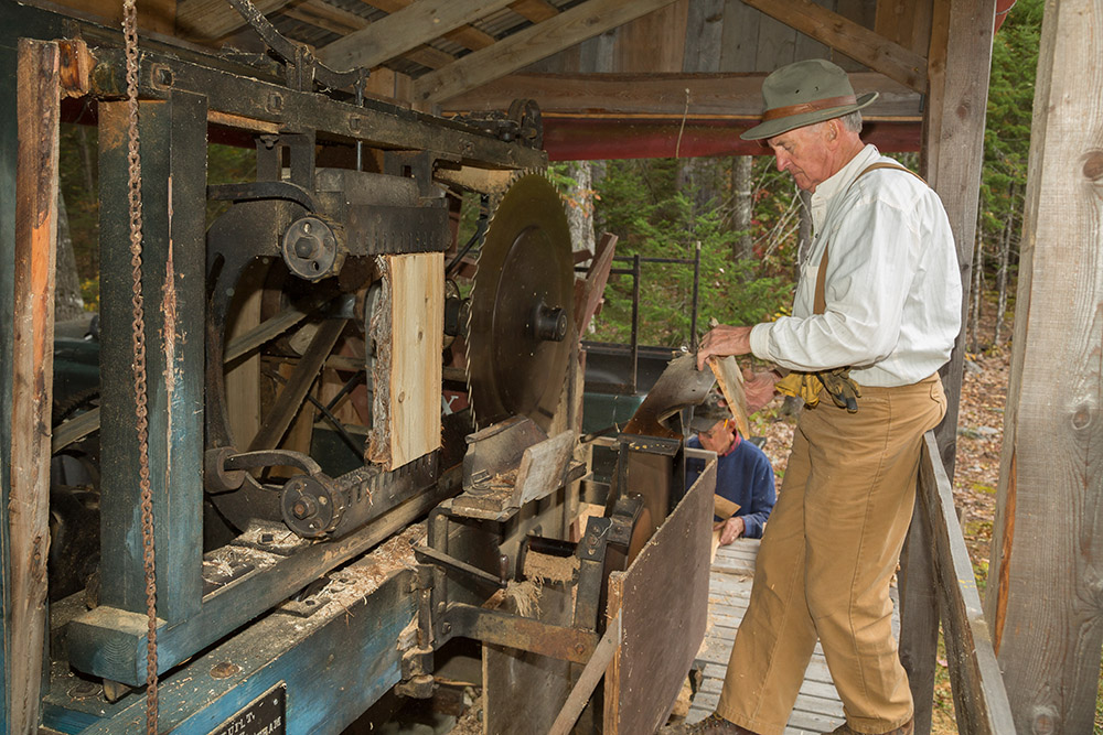 MFLM 2014 Living History Days-5782 - shingle mill