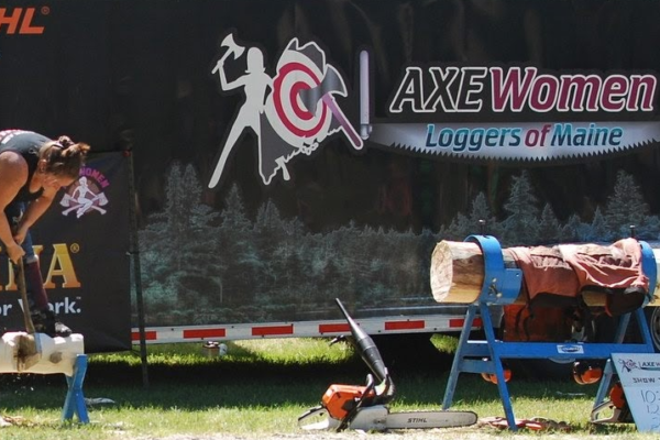 Axe Women Competing