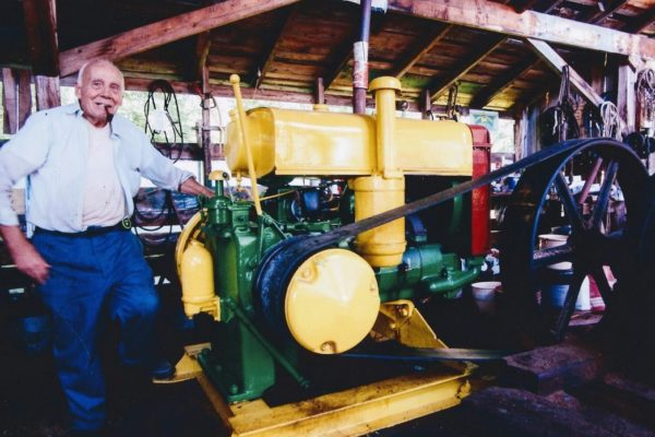 Bill Donnell and Clapboard Mill