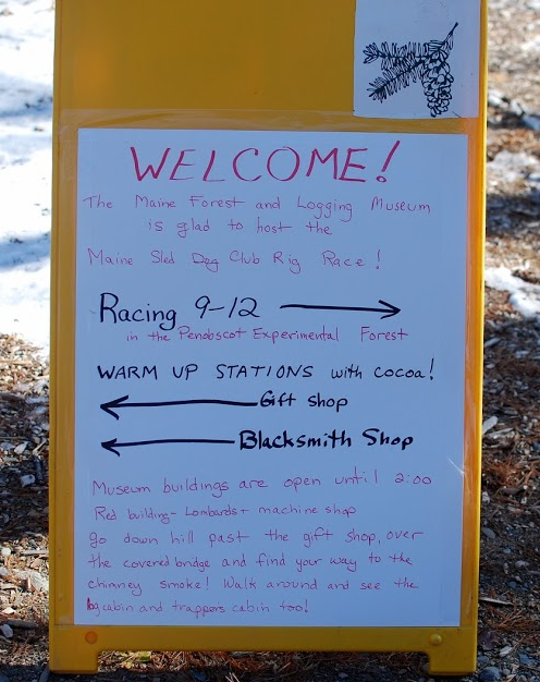 Sled Dog Sign