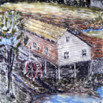 Drawing of Planned Water-powered Sawmill